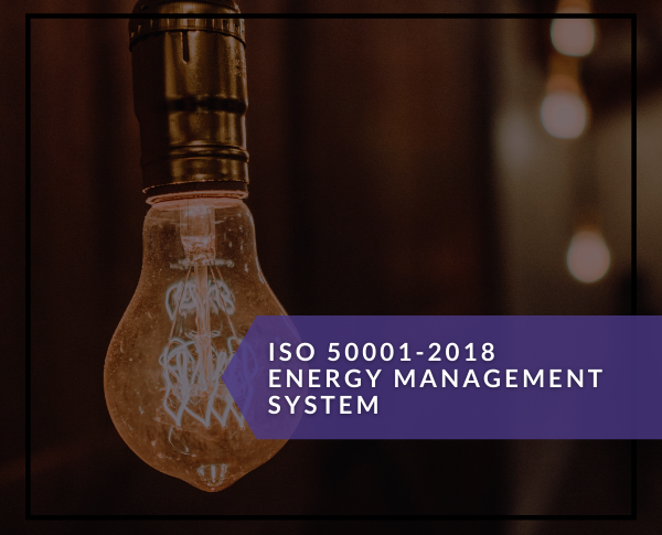 ISO 50001 - 2018