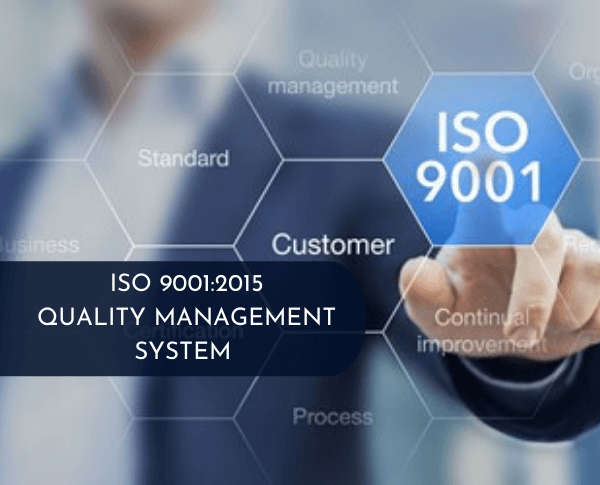 ISO 9001:2015 Quality Management System Implementation